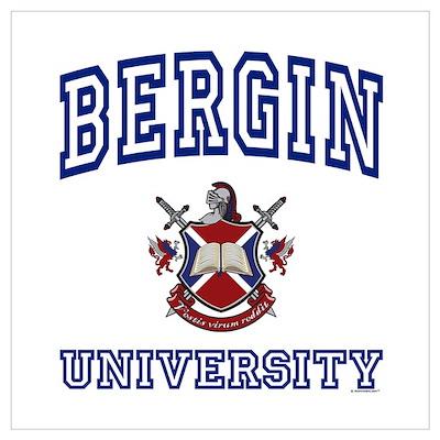 BERGIN University Poster