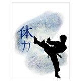 Kick boxing Framed Prints