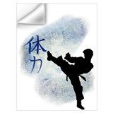 Kick boxing Wall Decals