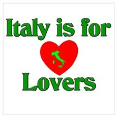 Italy is for Lovers Poster