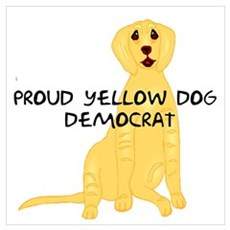 Yellow Dog Dem Poster