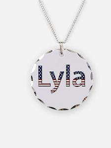 Lyla Stars and Stripes Necklace