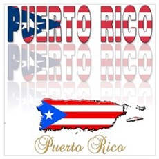 Puerto rican pride Canvas Art