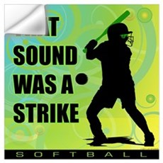 2011 Softball 111 Wall Decal