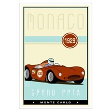 Monaco Canvas Art