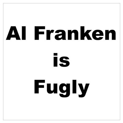 Al Franken is Fugly Framed Print