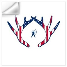 AMERICAN BOW HUNTER Wall Decal