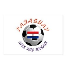 Paraguay world cup Postcards (Package of 8)