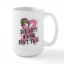 Ready For Battle BreastCancer Mug