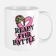 Ready For Battle BreastCancer Mug