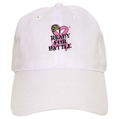 Ready For Battle BreastCancer Cap