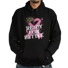 Ready For Battle BreastCancer Hoodie