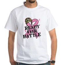Ready For Battle BreastCancer Shirt