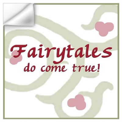 Fairytales Pink Wall Decal