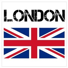 London Union Jack Canvas Art