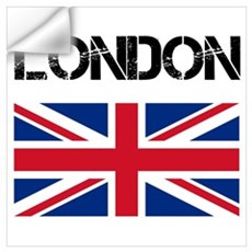 London Union Jack Wall Decal