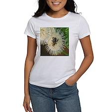 Bee on Buttonbush Tee