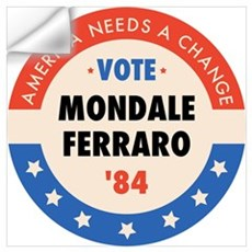 Vote Mondale '84 Wall Decal