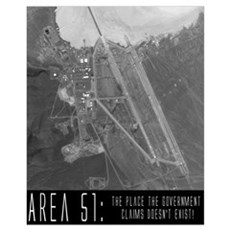 """Area 51"" Framed Print"