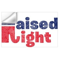 Raised Right 2 Wall Decal