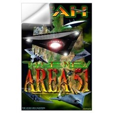 2005 Utah The New Area 51 Wall Decal