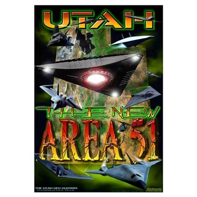2005 Utah The New Area 51 Canvas Art