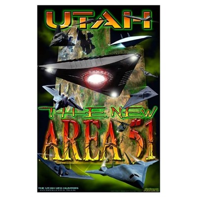 2005 Utah The New Area 51 Poster