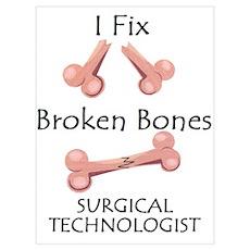 Broken Bones ST Poster