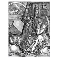 Melencolia by Durer Canvas Art