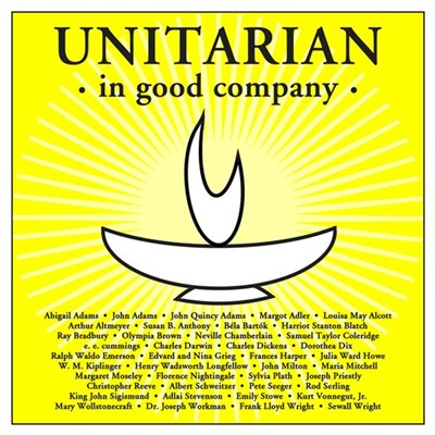 """Unitarian in Good Company"" Framed Print"