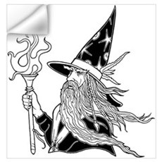 Wizard 5 Wall Decal