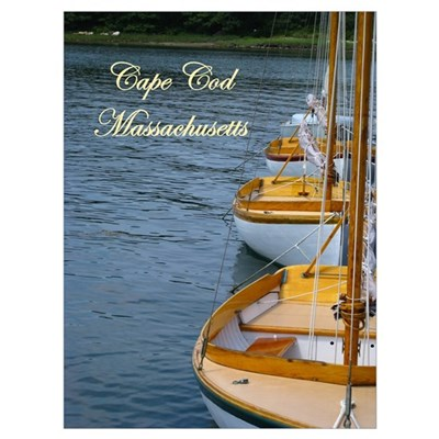 Cape Cod Boating Poster
