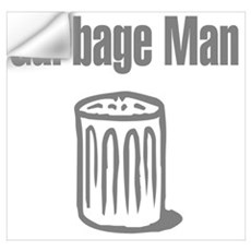 Garbage Man Wall Decal