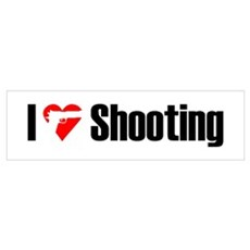 I love shooting Poster