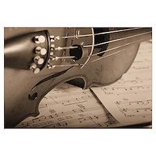 Violin Sepia