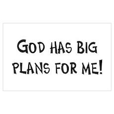 God's Plan for Me Poster