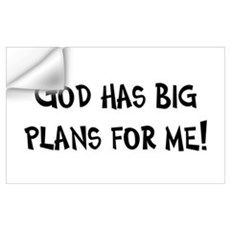 God's Plan for Me Wall Decal