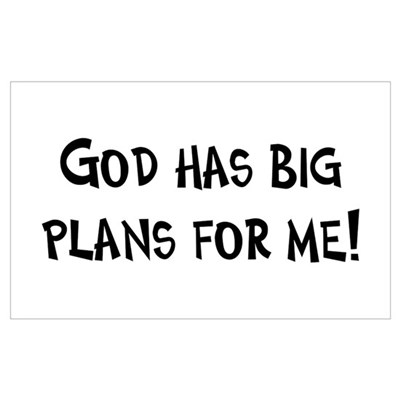 God's Plan for Me Poster