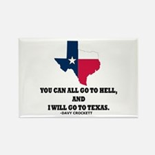 DAVY CROCKETT Rectangle Magnet