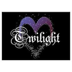Twilight Sparkle Heart Poster