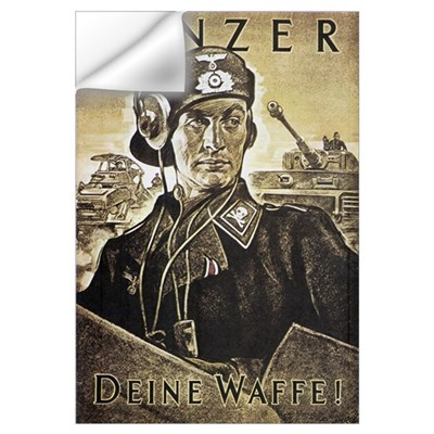 WWII German Wall Decal