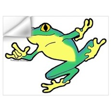 ASL Frog in Flight Wall Decal
