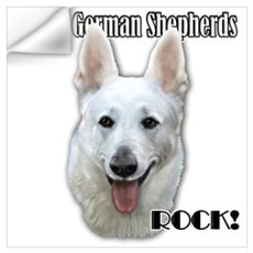 White Sheps Rock Wall Decal