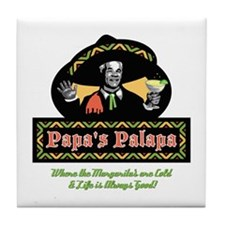 Papa's Palapa Collection Tile Coaster