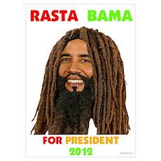 OBAMA - Rasta Obama Gear Poster