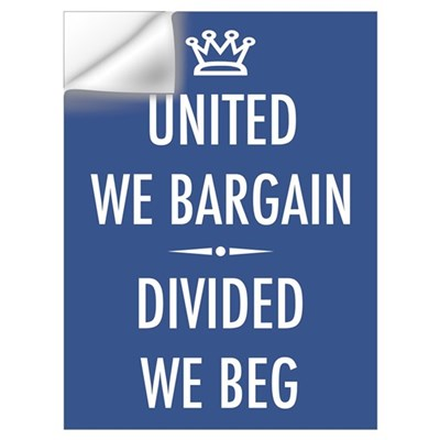 Bargain or Beg Wall Decal