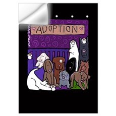 Dog Adoption Day Wall Decal