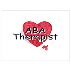 ABA Therapist Poster