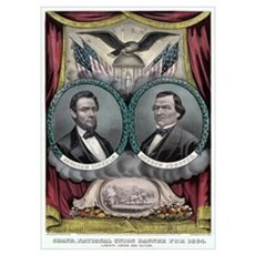 Abraham Lincoln 1864 Campaign #1 Poster