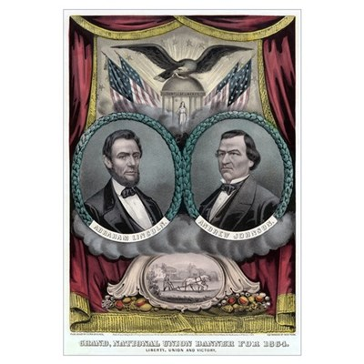 Abraham Lincoln 1864 Campaign #1 Canvas Art
